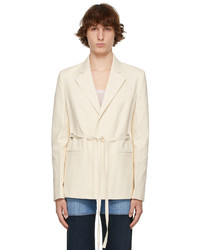 Peter Do Off White Everyday Blazer