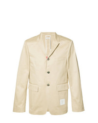 Thom Browne Single Breasted Blazer Nude Neutrals