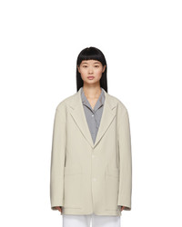 Studio Nicholson Taupe Conde Tailored Jacket
