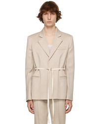 Peter Do Taupe Everyday Blazer