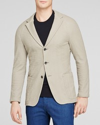 Armani Collezioni Textured Stretch Blazer Slim Fit