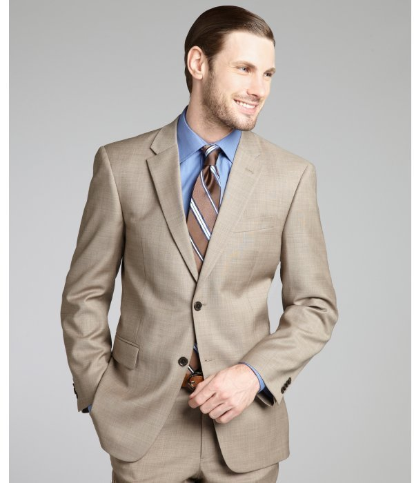 Buy Saks Fifth Avenue Men's Brown Sharkskin Wool Suit. Similar products also available. SALE now on!Price: $