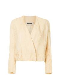 Uma Wang V Neck Jacket