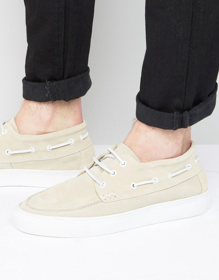 Selected Homme Hightop Boat Shoes, $66