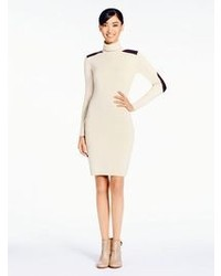 Beige bodycon dress original 1386825