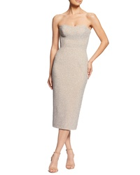 Dress the Population Claire Metallic Body Con Midi Dress e9517bce2