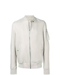 Rick Owens Textured Bomber Jacket