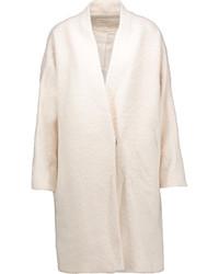 Beige Boucle Coat