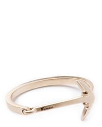 Anchored cuff bracelet brass medium 670669