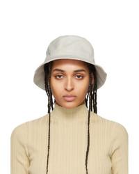 Acne Studios Beige Cotton Canvas Bucket Hat