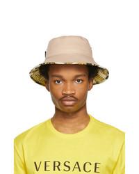 Versace Brown Barocco Bucket Hat