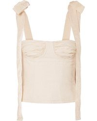 Orseund Iris Med Cotton Canvas Bustier Top
