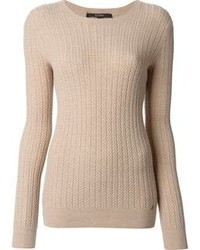 Cable knit sweater medium 100632