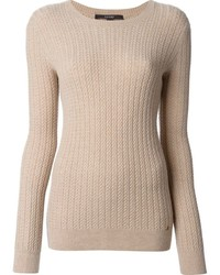 Cable knit sweater medium 1362434