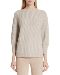 St. John Collection Cable Knit Sweater