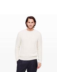 Club Monaco Cashmere Fisherman Sweater