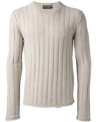Dolce & Gabbana Ribbed Knit Jumper