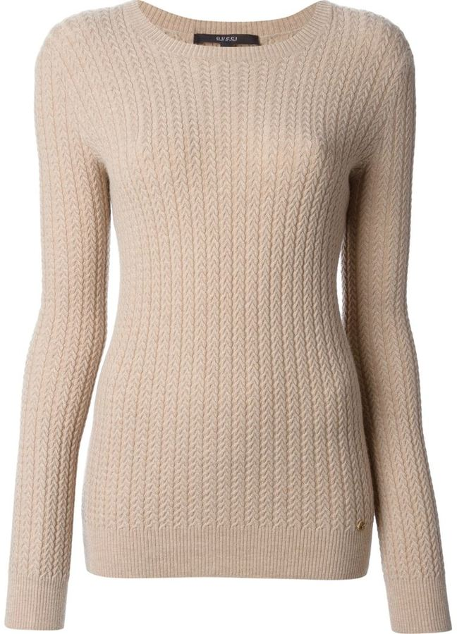 50443cb8d50 ... Gucci Cable Knit Sweater