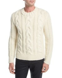 Belstaff Holmesdale Cable Knit Sweater