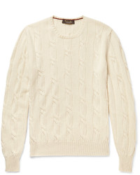 Loro Piana Jubilee Cable Knit Baby Cashmere Sweater