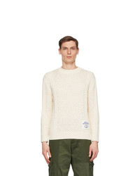 Stella McCartney Off White Shared Obs 23 Aran Sweater