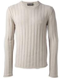 Ribbed knit jumper medium 124754