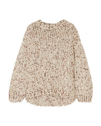 Brunello Cucinelli Sequined Chunky Knit Sweater