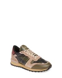 Valentino Garavani Camoflauge Sneaker
