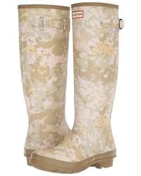 Hunter Original Tall Flecktarn Camo Rain Boots
