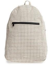 Canvas backpack black medium 3684174