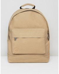 Canvas backpack in sand medium 6721323