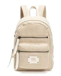 Frye Mini Ivy Canvas Backpack