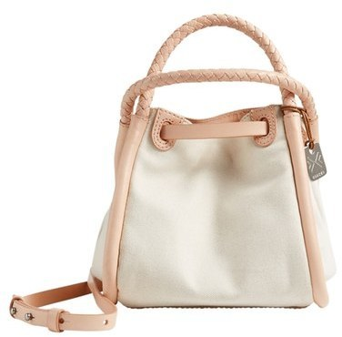 Skagen Mini Kolding Canvas Bucket Bag