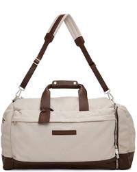 Brunello Cucinelli Beige Active Duffle Bag