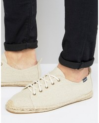 Soludos Canvas Lace Up Espadrilles