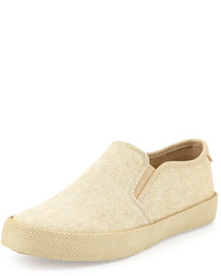 Penguin Espy Canvas Slip On Beige