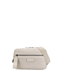 Beige Canvas Fanny Pack