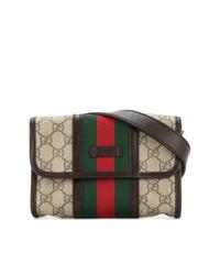 Gucci Vintage Gg Shelly Line Belt Bag