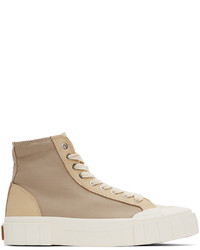 Good News Beige Palm High Sneakers