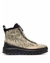 Stone Island Rain Camo High Top Sneakers