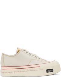 VISVIM Off White Skagway Low Sneakers