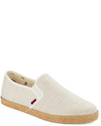 Ben Sherman Linen Slip On Espadrilles Sneakers