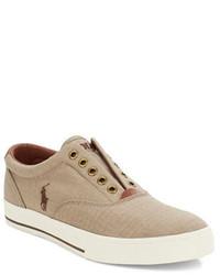 Polo Ralph Lauren Vito Canvas Slip On Sneakers