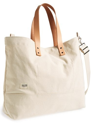 Blk Pine Workshop Large Canvas Tote | Where to buy & how to wear
