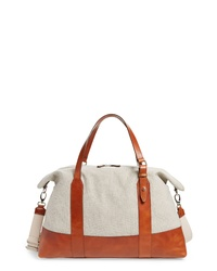 Eleventy Canvas Leather Bag