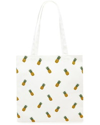 Forever 21 Pineapple Print Tote Bag