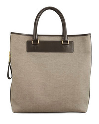 Tom Ford Canvas Side Zip Tote Bag