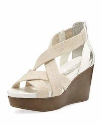 Jilli canvas wedge sandal nude medium 3697347