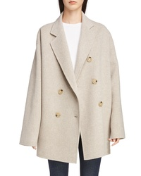 Acne Studios Odine Double Breasted Wool Cashmere Coat