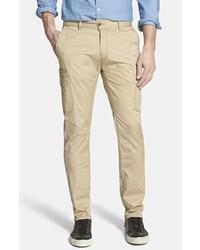 Jeremiah Ellison Peached Cotton Cargo Pants